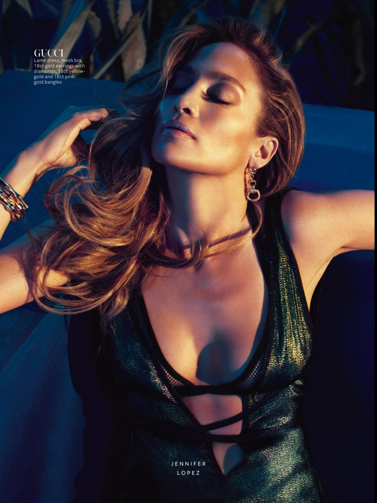 JENNIFER LOPEZ in Instyle Magazine, April 2014 Issue