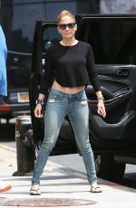 JENNIFER LOPEZ in Tight Jeans Out in New York 3006