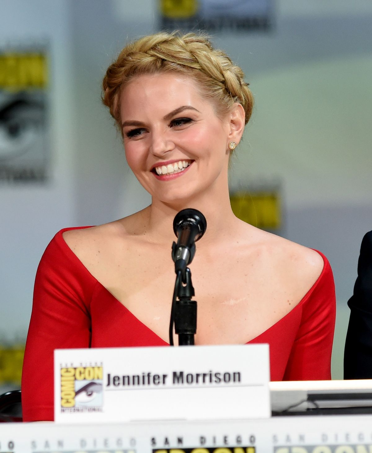 JENNIFER MORRISON at Once Upon a Time Panel at Comic-con 2014 in San Diego