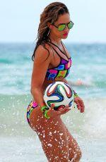 JENNIFER NICOLE LEE in Bikini at a Beach in Miami 1407
