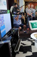 JESSICA ALBA at Microsoft VIP Lounge at Comic-con in San Diego