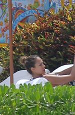 JESSICA ALBA in Bikini on Vacation in Mexico