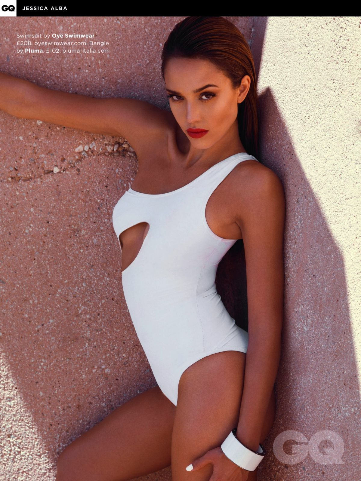 JESSICA ALBA in GQ Magazine, August 2014 Issue