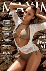 JESSICA ALBA in Maxim Magazine, September 2014 Issue