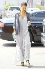 JESSICA ALBA Out and About in Beverly Hills 0207