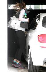 JESSICA BIEL Leaves a Gym in West Hollywood