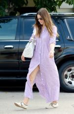 JESSICA BIEL Out and About in Los Angeles 1507