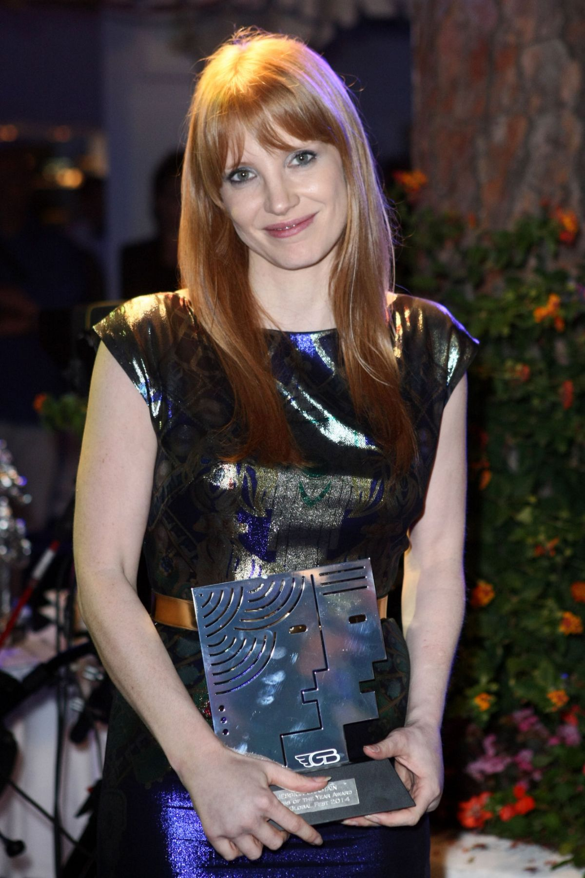 JESSICA CHASTAIN at Ischia Global Film and Music Festival, Day 3