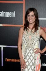JESSICA STROUP at Entertainment Weekly's Comic-con Celebration