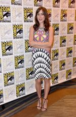 JESSICA STROUP at The Forgotten Panel at Comic-con in San Diego