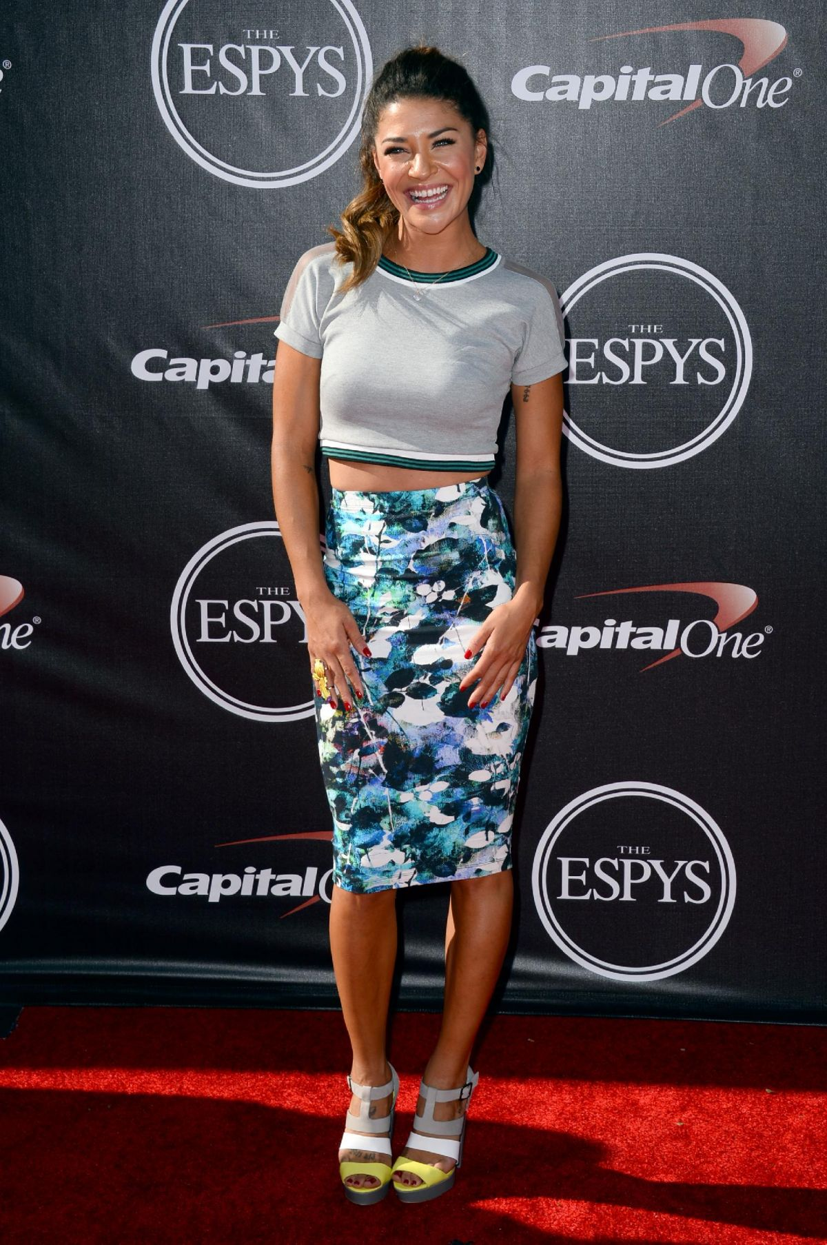 JESSICA SZOHR at 2014 ESPYS Awards in Los Angeles