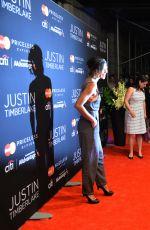 JESSICA SZOHR at Justin Timberlake Concert in New York