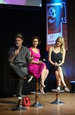 JESSY SCHRAM at Once Upon A Time Panel at Wizard Con Convention in Madrid