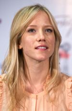 JESSY SCHRAM at Once Upon A Time Press Conference at Wizard Con Convention in Madrid