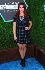 JILLIAN ROSE REED at Young Hollywood Awards 2014 in Los Angeles