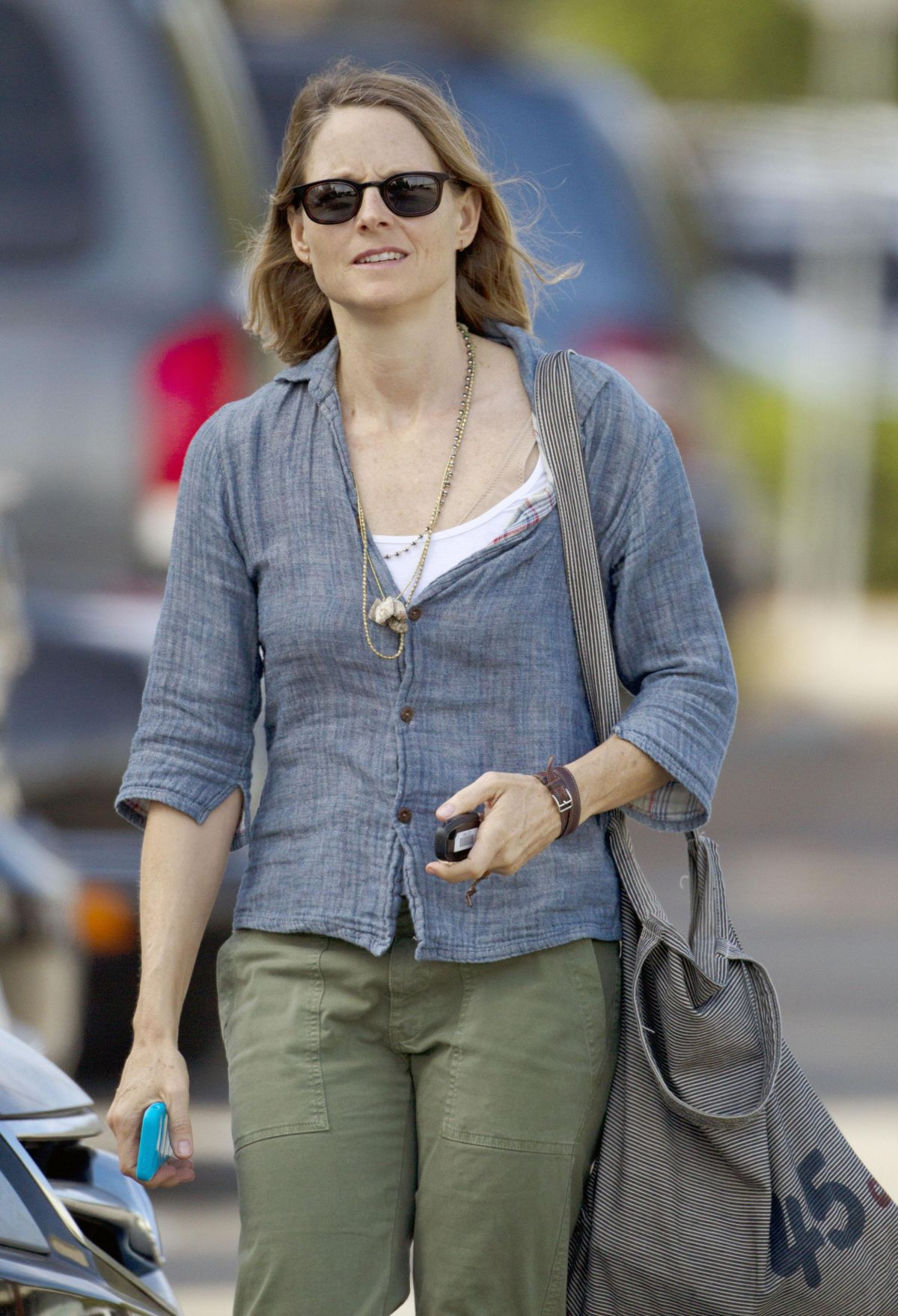 JODIE FOSTER Out and About in Los Angeles