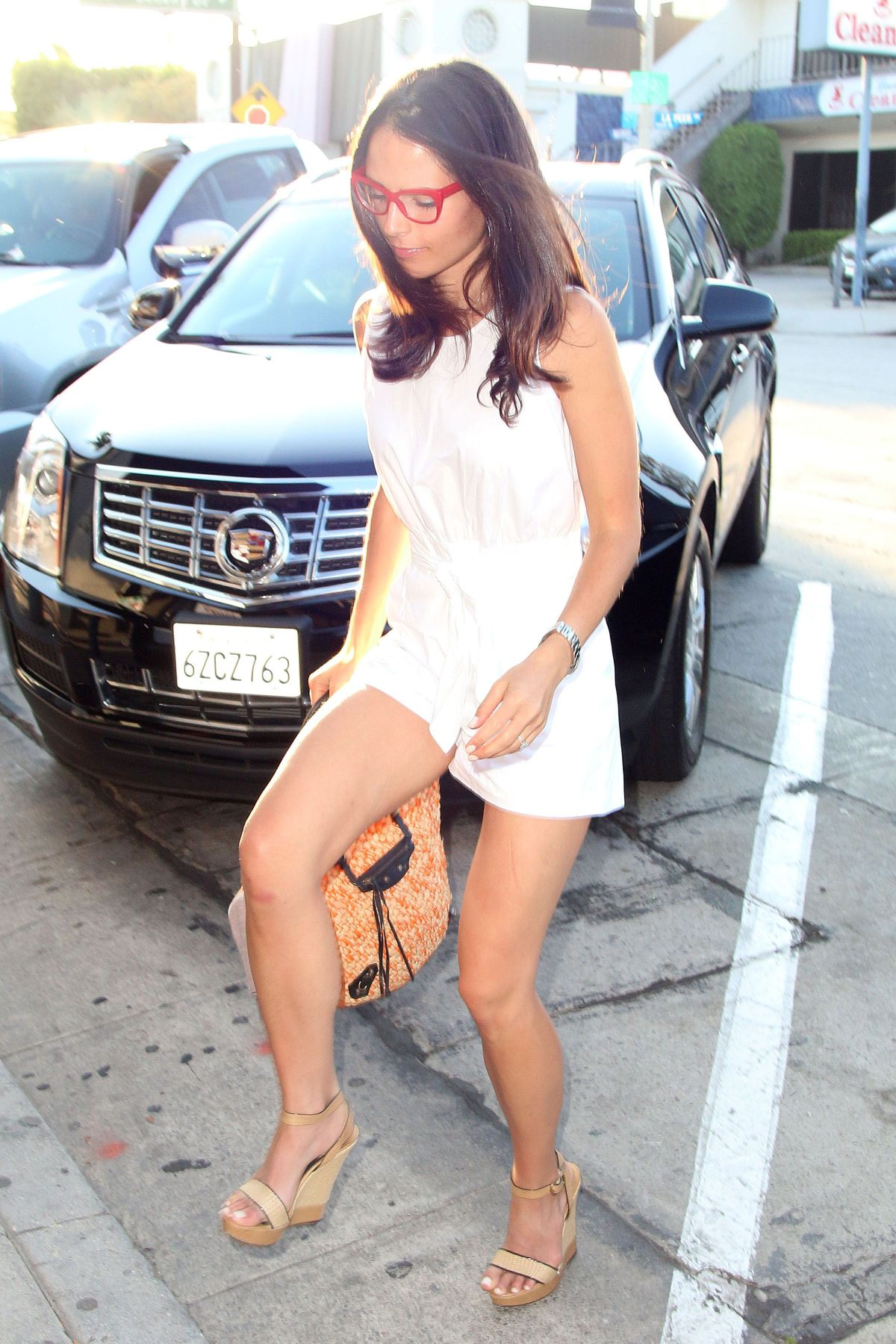 JORDANA BREWSTER Arrives at Craig