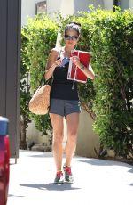JORDANA BREWSTER Leaves a Gym in Los Angeles