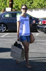 JORDANA BREWSTER Out Sshopping in Brentwood
