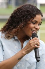 JORDIN SPARKS at Capitol 4th Independence Day Concert Rehearsals