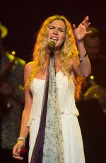 JOSS STONE Performs at Henley Festival in England