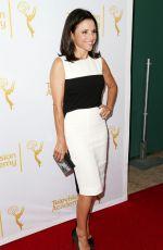 JULIA LOUIS-DREYFUS at 66th Emmy Awards Celebration in Beverly Hills