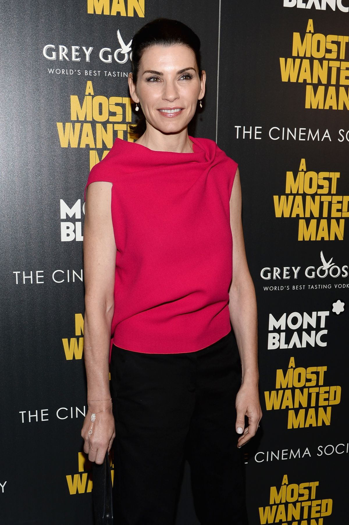 JULIANNA MARGUILES at A Most Wanted Man Premiere in New York