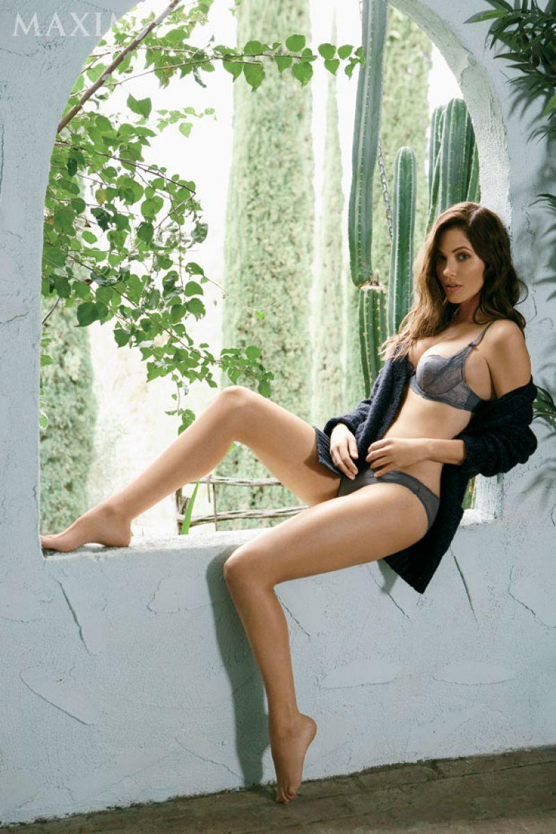 JULIE GONZALO in Maxim Magazine, July/August 2014 Issue