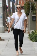KALEY CUOCO and Ryan Sweeting Out for Lunch in Venice