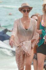 KALEY CUOCO in Bikini at a Beach in Cabo San Lucas