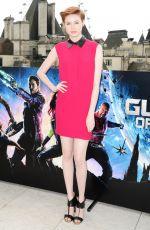 KAREN GILLAN at Guardians of the Galaxy Photocall in London