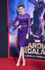 KAREN GILLAN at Guardians of the Galaxy Premiere in Hollywood