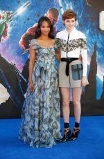 KAREN GILLAN at Guardians of the Galaxy Premiere in London