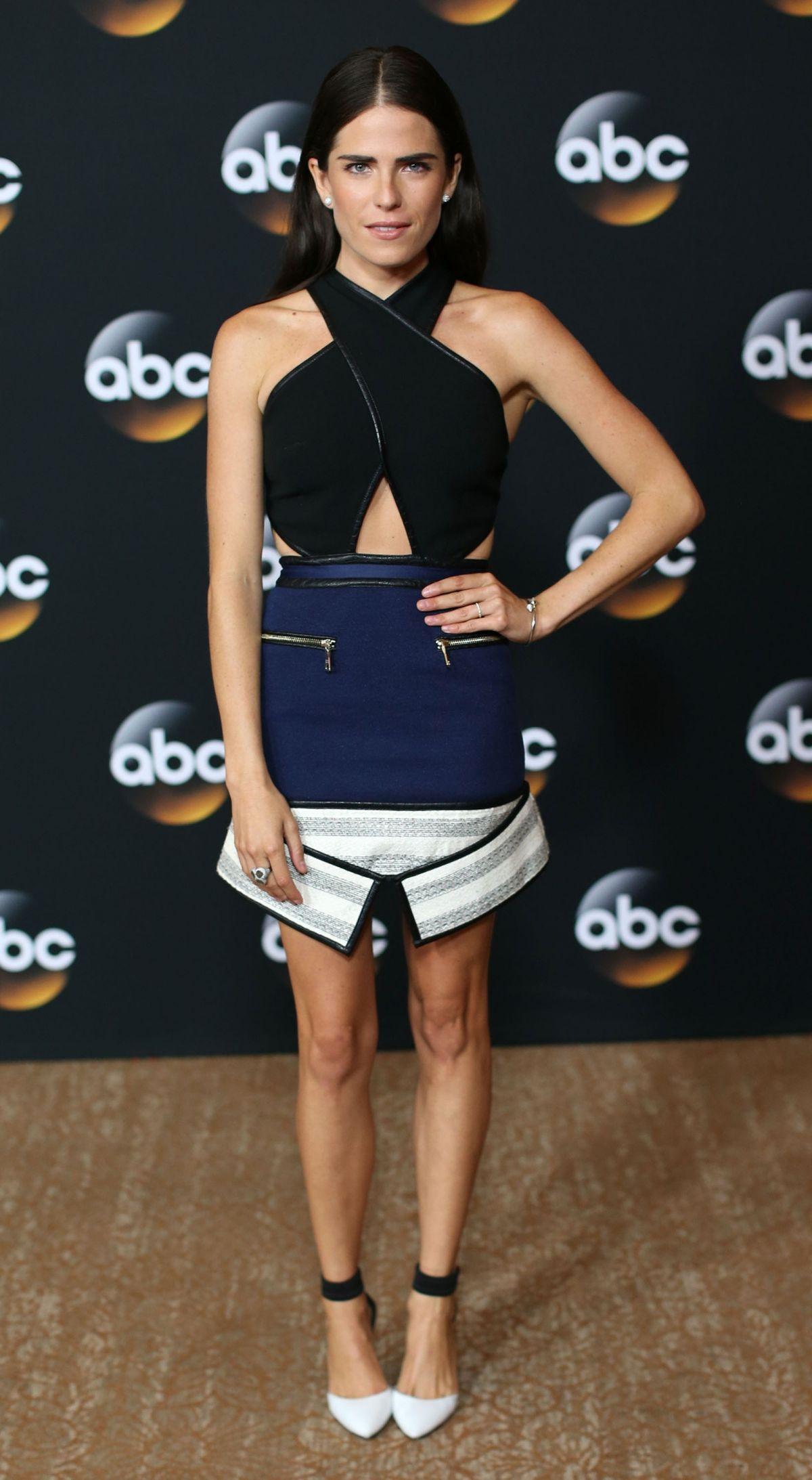 KARLA SOUZA at Disney and ABC Televison 2014 TCA Summer Tour