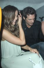 KATE BECKINSALE Arrives at Chiltern Firehouse in London