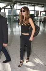 KATE BECKINSALE at Heathrow Airport in London 1707