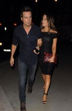 KATE BECKINSALE Leaves Chiltern Firehouse in London 2907