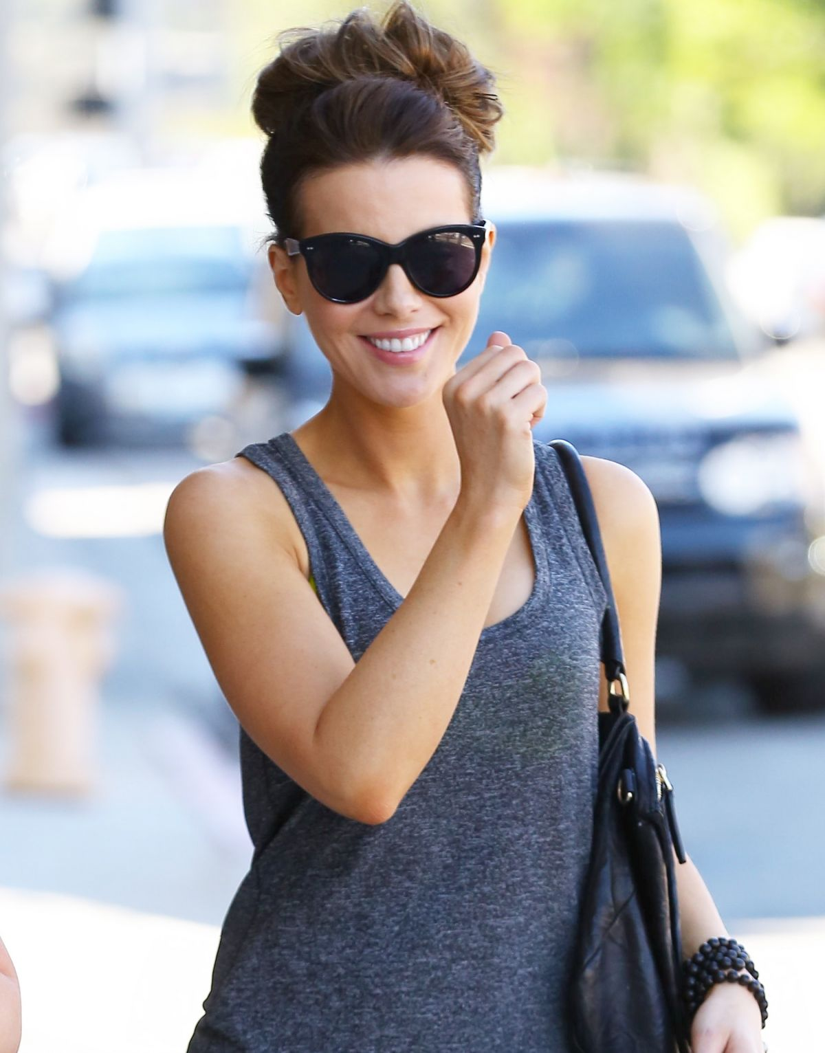 KATE BECKINSALE Out and About in New York 2307