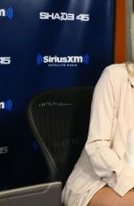 KATE HUDSON at SiriusXM Studios in New York