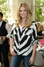 KATE UPTON at Express & Kate Upton Campaign Launch in New York