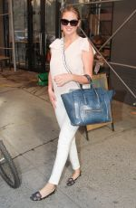 KATE UPTON Leaves Milk Studios in New York