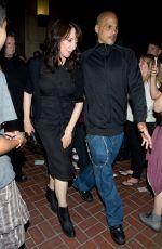 KATEY SAGAL Leaves Hard Rock Hotel in San Diego