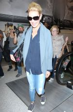 KATHERINE HEIGL Arrives at LAX Airport in Los Angeles