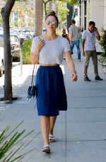KATHERINE MCPHEE Out and About in Beverly Hills