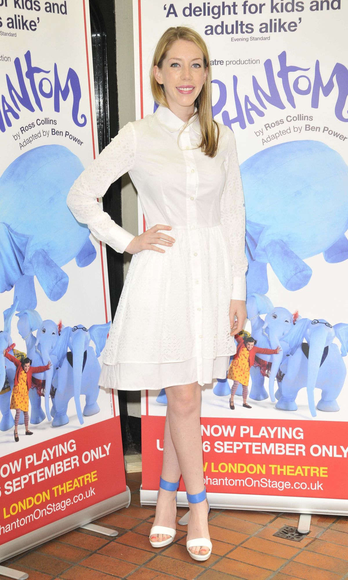 KATHERINE RYAN at The Elephantom Press Performance in London