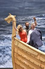 KATHERYN WINNICK on the Set with Vikings Interactive Experience
