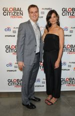 KATIE HOLMES at Global Citizen Festival Launch Party