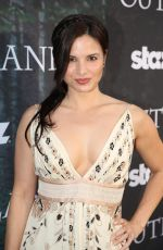 KATRINA LAW at Outlender Panel at Comic-con in San Diego
