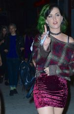 KATY PERRY Night Out in New York