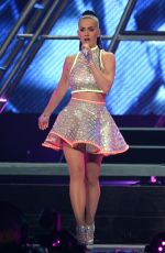 KATY PERRY Performs at Prismatic Tour in New York